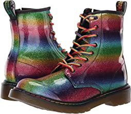 1460 Patent Glitter Delaney Boot (Big Kid)