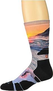 [メレル] メンズ 靴下 Cushioned Printed Crew Sock [並行輸入品]