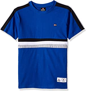 Boys' Big Stripe Short Sleeve Fashion Tee Shirt