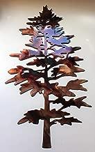 Majestic Pine Tree Metal Wall Decor