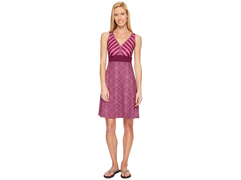 Marmot Becca Dress (Deep Plum Scribe/Deep Plum) Women
