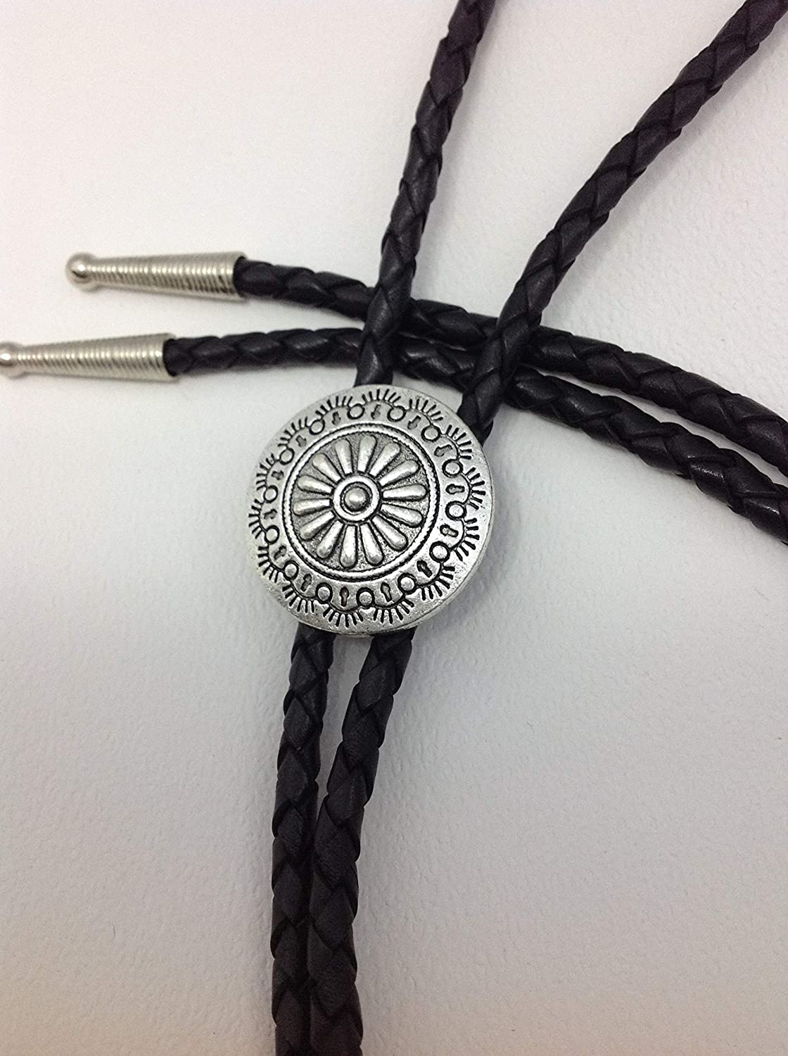Bolo Super intense SALE Tie Western Bootlace Concho Cowboy Necklace Style 2021 new