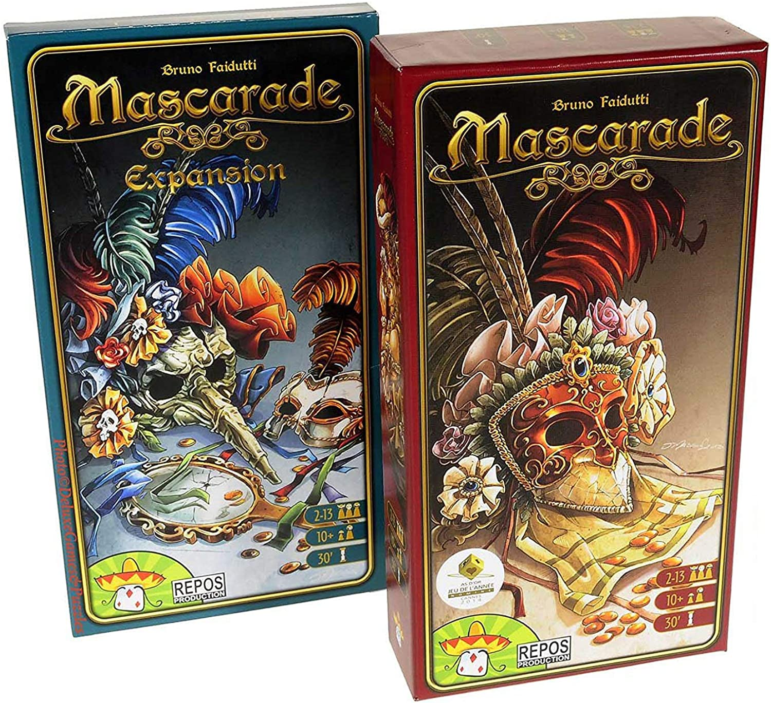 Repos Production Macarade Base Game and Expansion Bundle