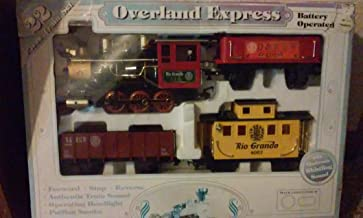 Overland Express Battery Operated 22 Piece Train Set