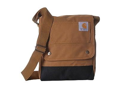 Carhartt Legacy Crossbody Bag (Carhartt/Brown) Handbags