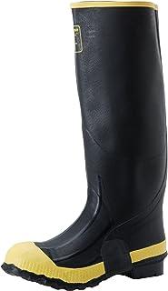 حذاء عمل LaCrosse رجالي ممتاز يصل إلى الركبة مقاس 16 بوصة، أسود، مقاس 11 M US