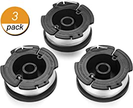 Replacement Spool, AF-100, 30ft for String Trimmer, Compatible with Black and Decker Models (3-Pack)