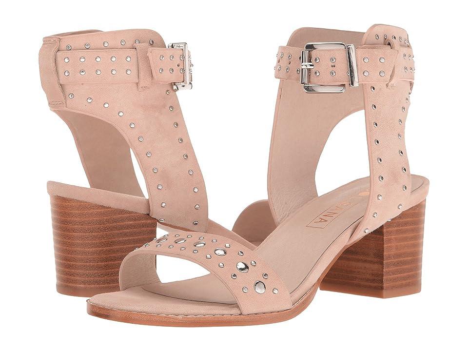 Sol Sana Porter Heel (Blush Suede) Women