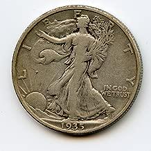 1935 S Walking Liberty Half Dollar VF-30