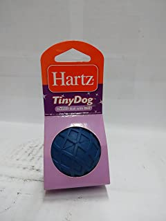 Hartz Dog Toy Rubber Ball with Bell, Assorted Colors (pack of 2)