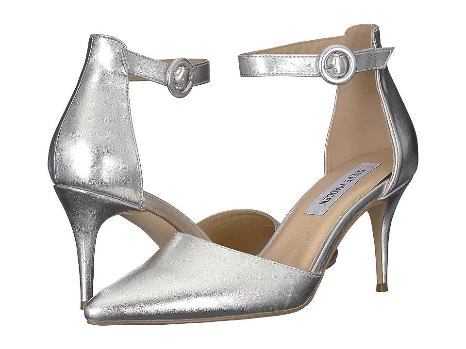 Steve Madden Berlinn (Silver) High Heels