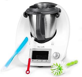 Spatule Silicone Souple pour Thermomix - Facilite l'Enlèvement la Séparation des Aliments - Inclus Kit Accessoire Complet ...