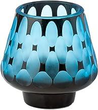 Abigails Turquoise Glass Votive Holder