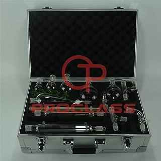Proglass Primay Organic Chemistry Kit 19/22 lab Glassware kit with Cabinet Box