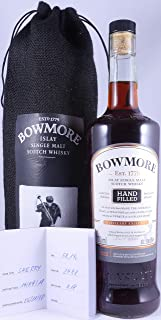 Bowmore 2000 17 Years 26th Hand-Filled Limited Release 1st Fill Oloroso Sherry Cask No. 2488 Islay Single Malt Scotch Whisky Cask Strength 58,1% Vol. - seltene Single Cask Abfüllung!