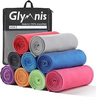 Glymnis Mikrofaser Handtücher schnelltrocknend Sporthandtuch Strandhandtuch Viele..