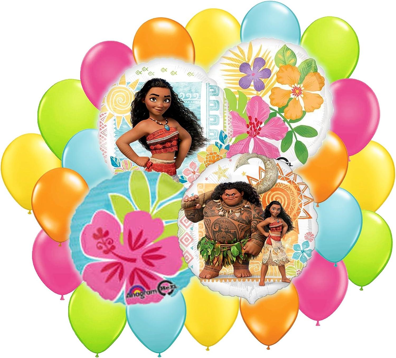 Disney Moana Balloon Bouquet Decoration Kit 24pc by Anagram