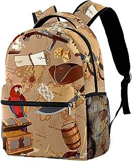 حقيبة ظهر كاجوال حقيبة كتب للمدرسة الثانوية والتخييم التنزه والتخييم Daypack Pig Animal