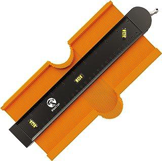 Sponsored Ad - Contour Gauge Profile Tool with Bubble Level, VASETAR Widen 10 inch Metal Lock Precisely Copy Irregular Sha...