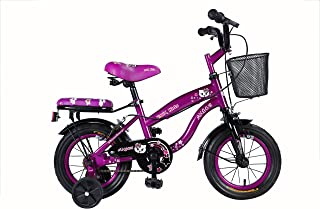 "Vaux Bicycle for Kids- Vaux Angel 12T Kids Bicycle for Girls. Ideal for Cyclist with Height (2'8"" – 3'3"") – Purple."