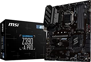 MSI Z390-A PRO LGA1151 (Intel 8th and 9th Gen) M.2 USB 3.1 Gen 2 DDR4 HDMI DP CFX Dual Gigabit LAN ATX Z390 Gaming Motherb...