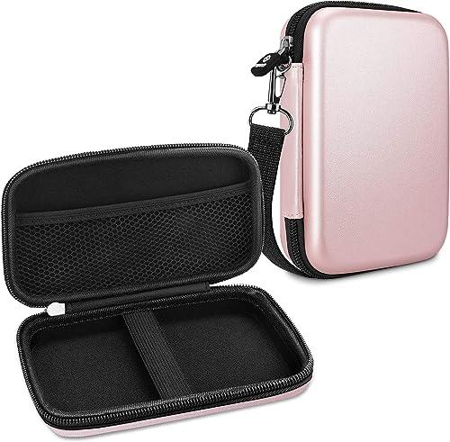 FINTIE Housse pour HP Sprocket Plus Portable Imprimante - EVA Étui Rigide de Protection Transport Case Sacoche de Tra...