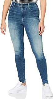 G-Star Raw dames spijkerbroek Kafey Studs Ultra High Waist Skinny