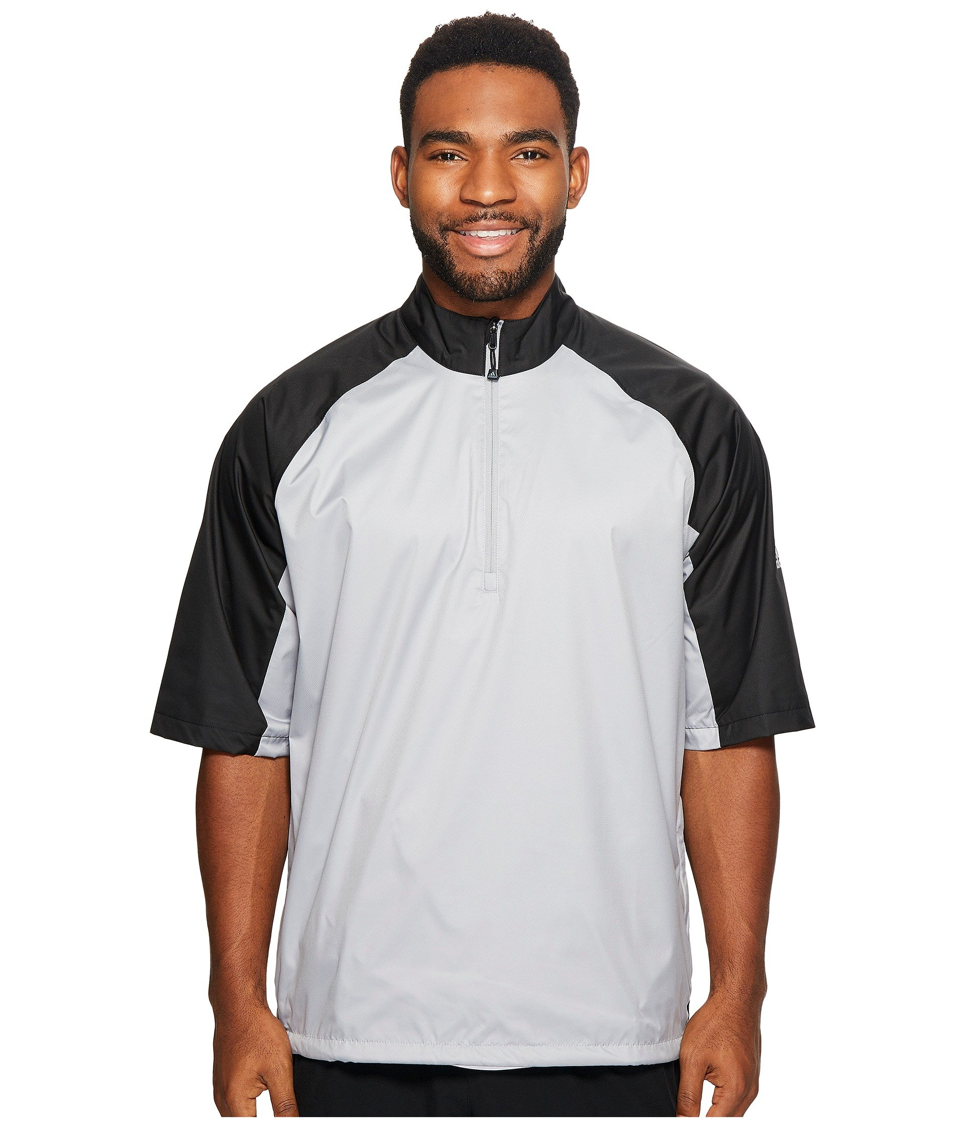 Adidas golf climastorm provisional ii short sleeve rain for Adidas golf rain shirt