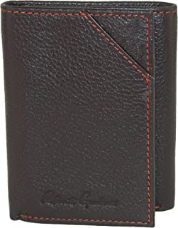 Men's Kent Leather Trifold Wallet, OS, Brown