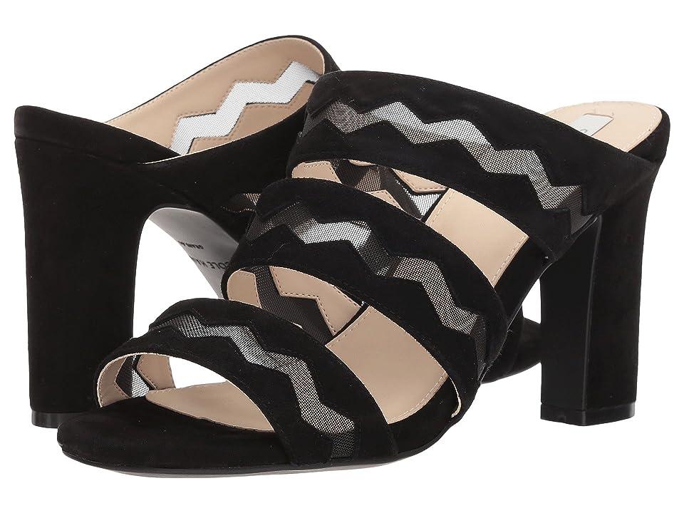 Cole Haan Emilia High Sandal (Black Suede) Women