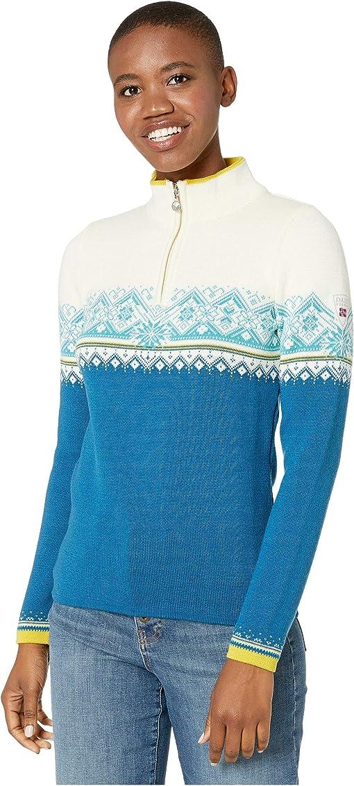Arctic Blue/Off-White/Sweethoney/Turquoise