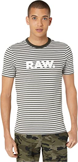 Asfalt/Light Grey Stripe