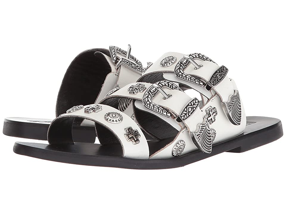 Sol Sana Eastwood Slide (White Stud) Women