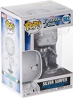 Funko Pop! Marvel: Fantastic Four - Silver Surfer(MT), Action Figure - 44992