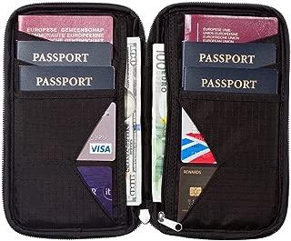 rfid travel wallet passport