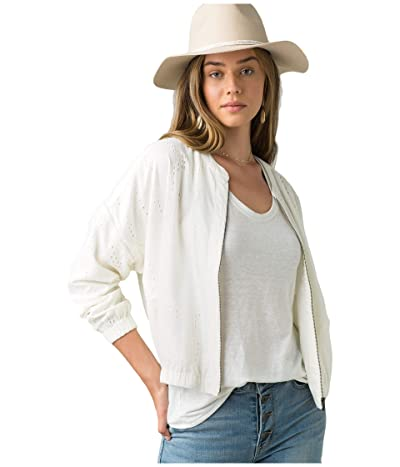 Prana Barlow Jacket (Soft White) Women