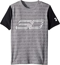 Under Armour Kids - Steph Curry 30 Reppin Shersey Short Sleeve Tee (Big Kids)