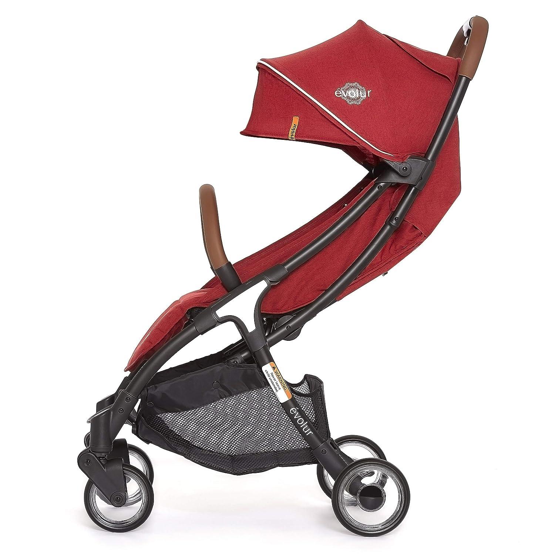 Evolur Vogue Stroller, Red Melange