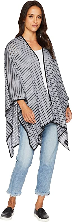 Shadow Stripe Sporty Shawl