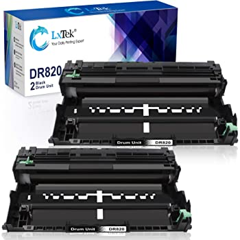 GREENCYCLE Compatible for Brother DR820 Drum Unit Replacement for DCP-L5500DN//L5600DN//L5650DN HL-L6200DW//L6200DWT//L5200DWT//L5200DW//L5100DN//L5000D MFC-L5850DW//L5900DW Printer Black,4 Pack