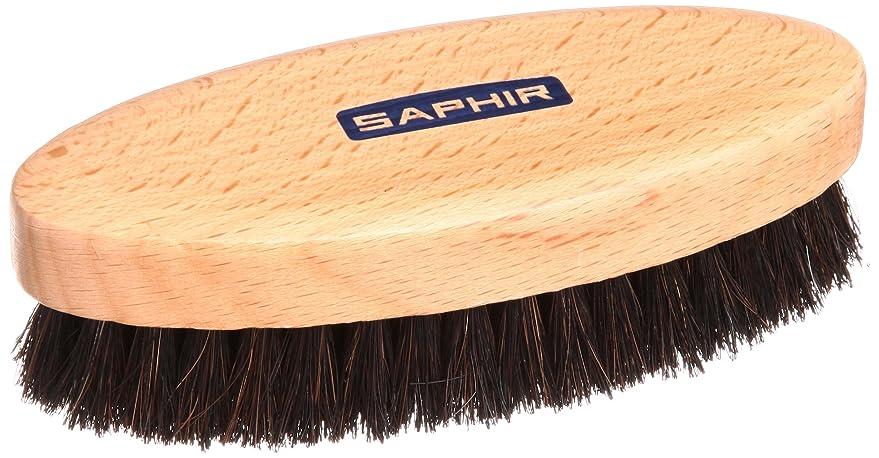 揮発性揮発性オーストラリア[サフィール] SAPHIR ブラシ ポリッシャーホースヘアブラシ 靴磨き バッグ 手入れ ほこり落とし 仕上げ ツヤ