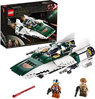 LEGO Star Wars: The Rise of Skywalker Resistance A-Wing Starfighter 75248 Building Kit, New 2019