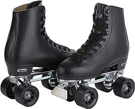 چرم مردان چرمی چرمی Roll Skate Roll، Black