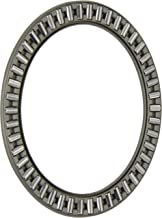 SKF AXK 4565 Thrust Needle Bearing, Axial Cage and Roller, Steel Cage, Metric, 45mm Bore, 65mm OD, 3mm Width