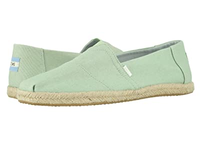 TOMS Alpargata (Plant Dyed Mint Green) Men