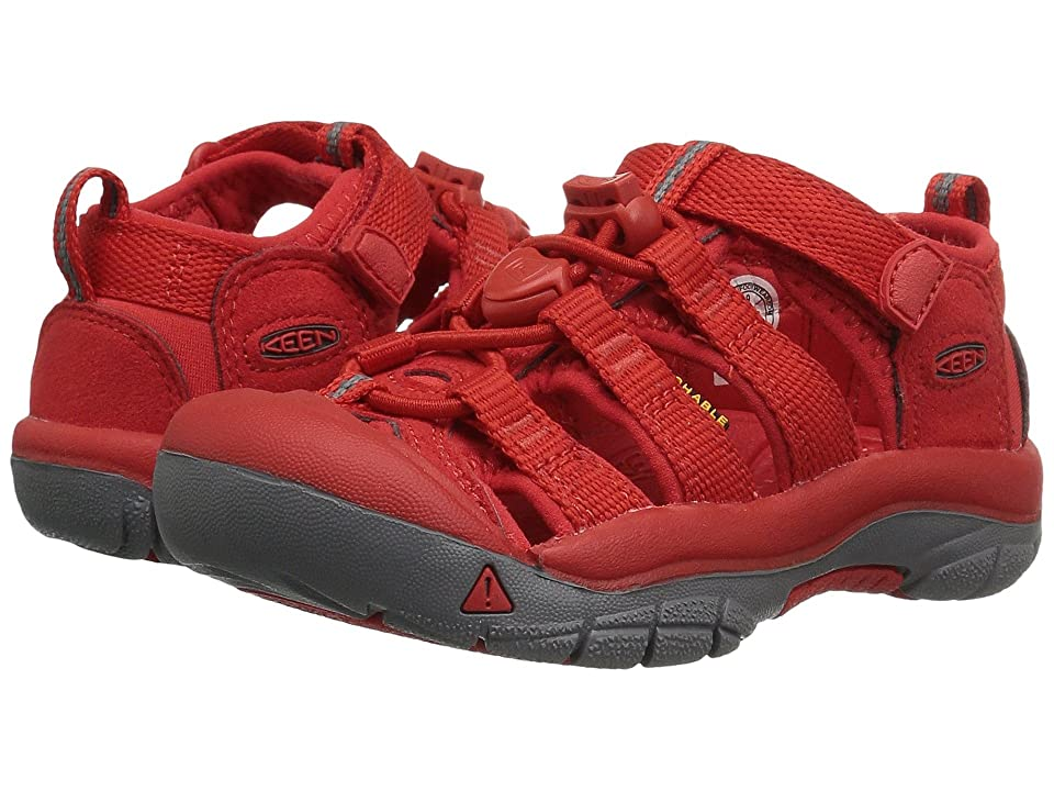 Keen Kids Newport H2 (Toddler/Little Kid) (Firey Red) Kids Shoes