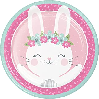 Bunny Party Paper Plates, 24 ct