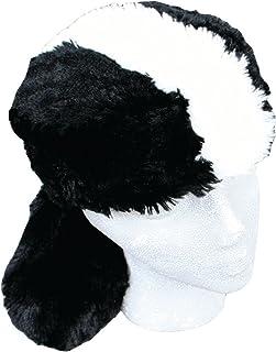 d1858ebf586 Teen Adult Faux Fur Skunk Animal Hat Cap