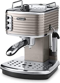 De'Longhi Scultura Pump Espresso Coffee Machine, Grey, ECZ 351.BG