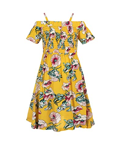 Appaman Kids Tropical Floral Juniper Dress w/ Smocked Top (Toddler/Little Kids/Big Kids)